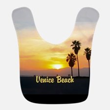 Personalized Venice Beach California Sunset Bib