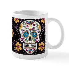 Sugar Skull BLACK Mug