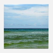 Photograph of Ocean Horizon Tile Coaster