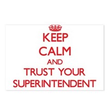 Keep Calm and trust your Superintendent Postcards