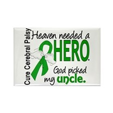Cerebral Palsy HeavenNeededHero1 Rectangle Magnet