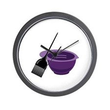 Hairdresser Colorist Tools Wall Clock