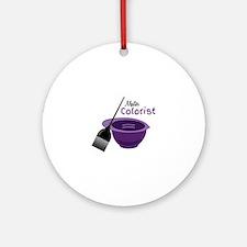Master Colorist Ornament (Round)