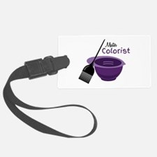 Master Colorist Luggage Tag