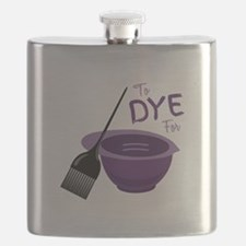 To Dye For Flask