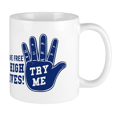 You Dont Even Need Caffeine With These High-5 Mugs