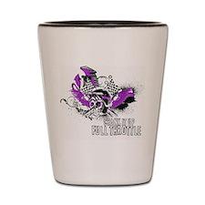 Full Throttle - Purple Shot Glass
