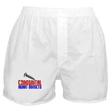 Screw Congenital Heart Defects 1.1 Boxer Shorts
