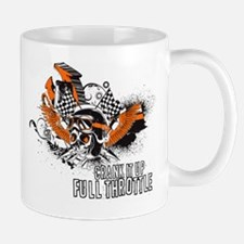 Full Throttle - Orange Mugs