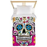 Sugar skull Duvet Covers