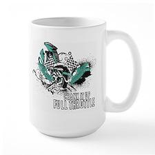 Full Throttle - Blue Mugs