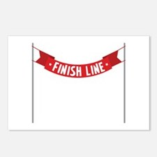 * FINISH LINE* Postcards (Package of 8)
