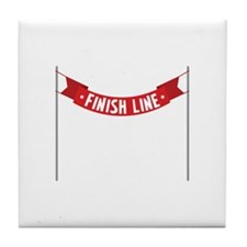 * FINISH LINE* Tile Coaster