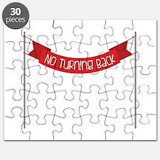 NO TURNING BACK Puzzle