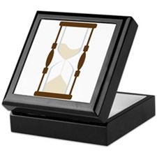 Hourglass Sand Timer Keepsake Box