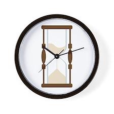 Hourglass Sand Timer Wall Clock