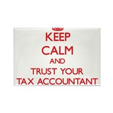 Keep Calm and trust your Tax Accountant Magnets