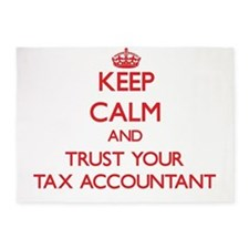Keep Calm and trust your Tax Accountant 5'x7'Area