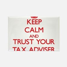 Keep Calm and trust your Tax Adviser Magnets