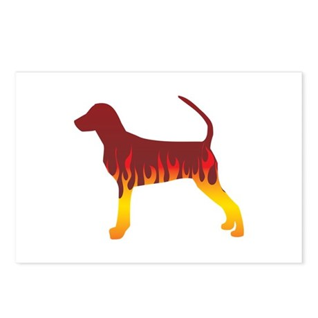 Bracco Flames Postcards (Package of 8)
