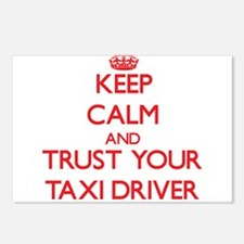 Keep Calm and trust your Taxi Driver Postcards (Pa