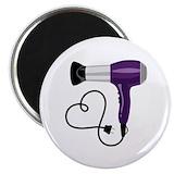 Hair dryer Round Magnets