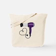 Hair Dryer Tote Bag