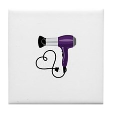 Hair Dryer Tile Coaster