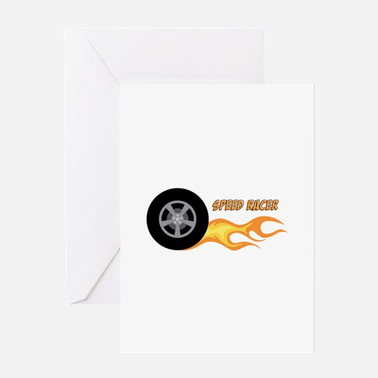 SPEED RACER Greeting Cards