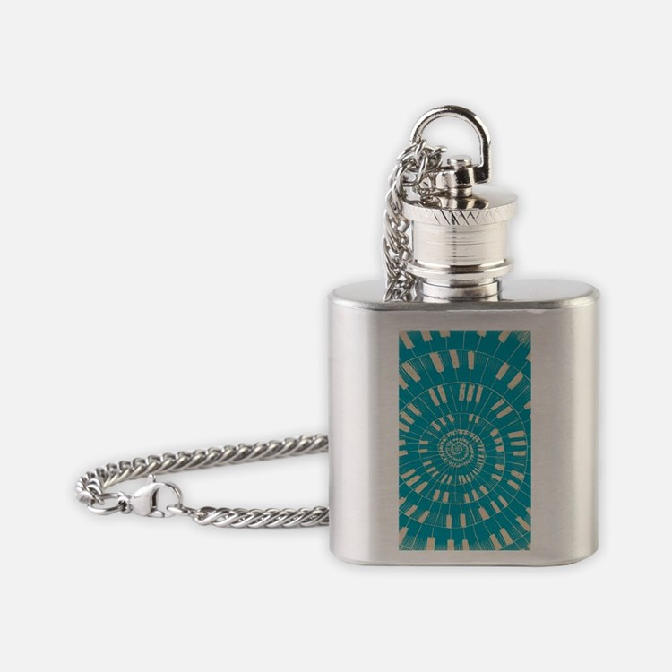 Strange Melody II Flask Necklace