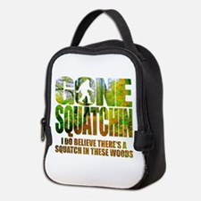 Gone Squatchin *Wooded Path Edi Neoprene Lunch Bag