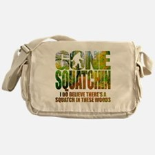 Gone Squatchin *Wooded Path Edition* Messenger Bag
