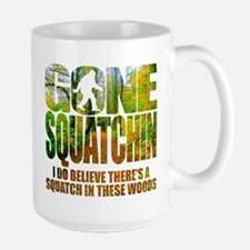 Gone Squatchin *Wooded Path Edition* Large Mug