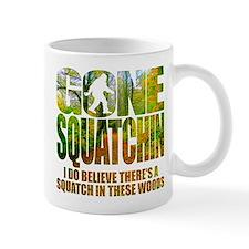 Gone Squatchin *Wooded Path Edition* Small Mug
