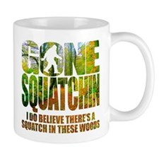 Gone Squatchin *Wooded Path Edition* Small Mugs