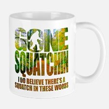 Gone Squatchin *Wooded Path Edition* Small Small Mug