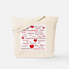 Heart Grandparent Bag Tote Bag