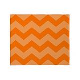 Bright orange Blankets