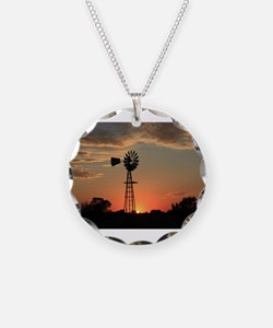 Unique Black sun Necklace