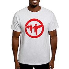 Guy with sidekick - bananaharvest T-Shirt