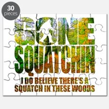Gone Squatchin *Wooded Path Edition* Puzzle