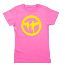 Guy with sidekick - bananaharvest Girl's Tee