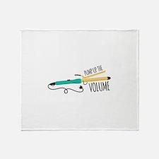 Pump Up The Volume Throw Blanket