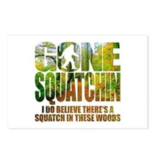 Gone Squatchin *Wooded Path Edition* Postcards (Pa