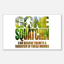 Gone Squatchin *Wooded Path Edition* Decal