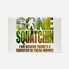 Gone Squatchin *Wooded Path Edition* Magnets