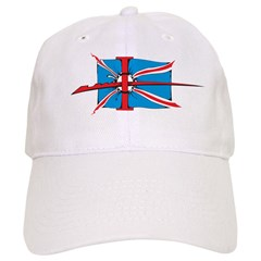 Union Jack Tattoo Baseball Cap