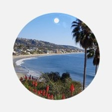 Laguna beach,california Ornament (Round)