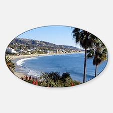 Laguna beach,california Decal