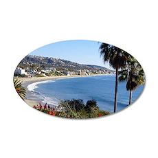 Laguna beach,california Wandtattoo